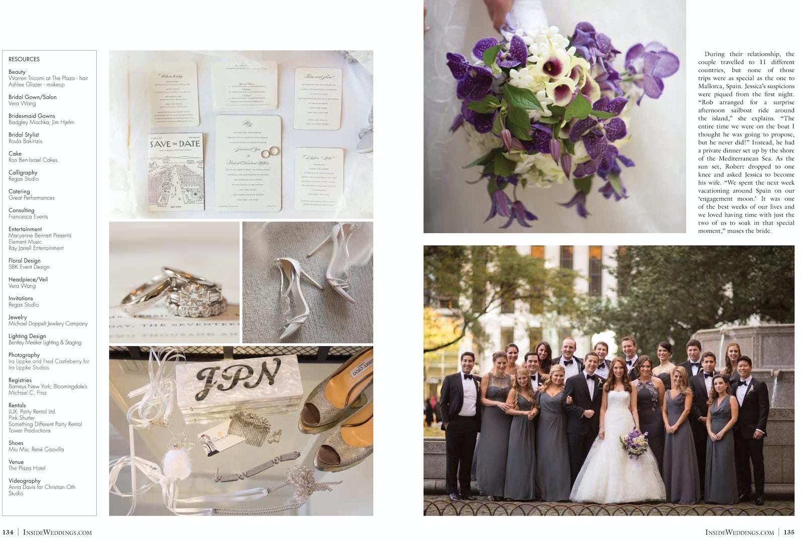 6b34d1a61e62 ... Jessica Preiser   Robert Nitkin Featured in Inside Weddings ...