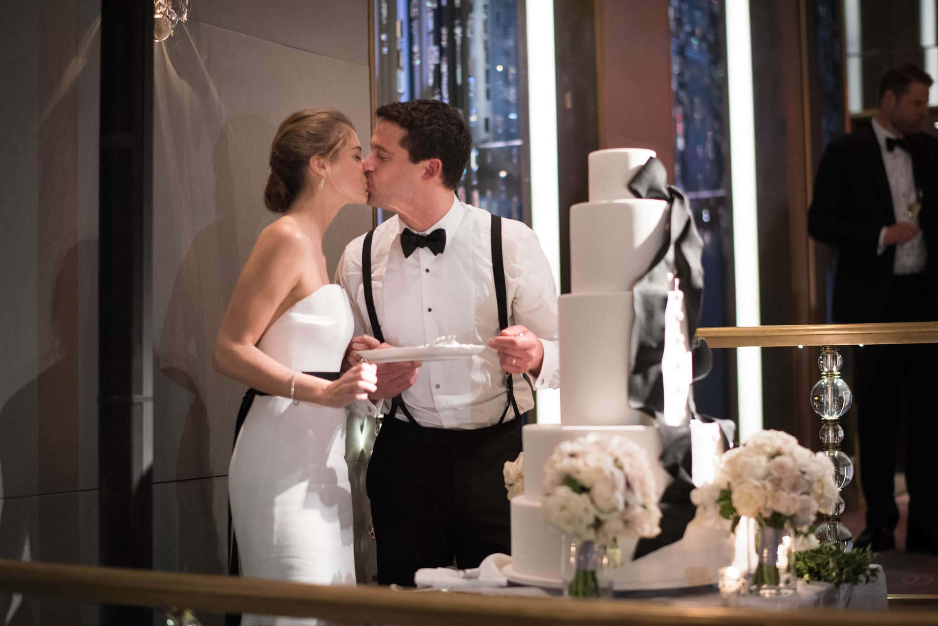Emily And Peter S Wedding Rainbow Room Nyc The Day
